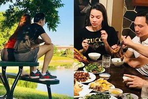 Ngồi lên bàn lại còn đặt chân lên ghế, Hồ Ngọc Hà - Kim Lý bị chê 'thiếu ý thức' khi du ngoạn nước Mỹ