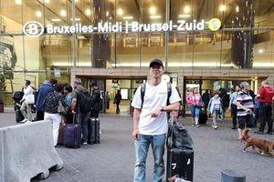 Công Phượng đặt chân đến Bỉ, chuẩn bị tiến hành kiểm tra y tế