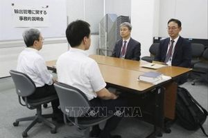 Căng thẳng Nhật-Hàn leo thang sau đàm phán