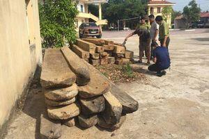 Quảng Bình: Đối tượng chở gỗ lậu tấn công kiểm lâm viên khi bị truy bắt