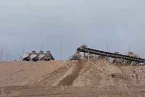 Tuyệt đối không thanh toán công trình sử dụng cát, sỏi không rõ nguồn gốc