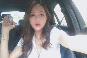 Cuối cùng Hương Giang đã đạt tới cảnh giới cao nhất của gợi cảm với mốt 'môi hở răng lạnh' hững hờ