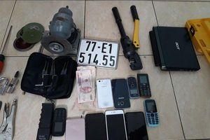 Lời khai nhóm đối tượng đột nhập nhà trọ trộm 9 xe máy ở Sài Gòn