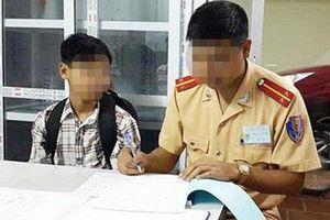 Đi về quê chơi, bé trai 13 tuổi từ Hải Dương đi lạc lên Hà Nội