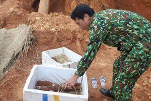 Lâm Đồng: Tháo gỡ thành công hầm đạn cối dưới chân đèo Bảo Lộc