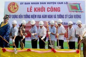 Quảng Trị: Khởi công xây dựng Đền tưởng niệm vua Hàm Nghi và tướng sĩ Cần Vương