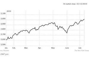 Chứng khoán Mỹ lên mức kỷ lục bất chấp lo ngại kinh tế gia tăng