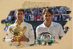 Djokovic từng 2 lần liên tiếp khiến Federer ôm hận tại Wimbledon