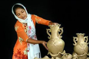 Ở vùng đất nghề mẹ truyền con gái nối
