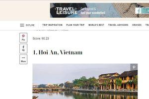 Hội An đứng đầu Top 15 thành phố tuyệt vời nhất thế giới