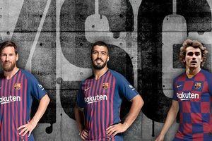 Cây đinh ba mới của Barca có thể đảm bảo hơn 100 bàn mỗi mùa