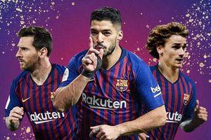 Đội hình lý tưởng của Barca khi có Griezmann: Coutinho, Dembele vắng mặt