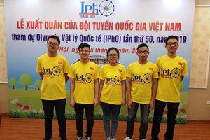 Nữ sinh Việt Nam đoạt giải đặc biệt tại Olympic Vật lí quốc tế