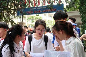 Gần 70% thí sinh đạt điểm dưới trung bình môn tiếng Anh
