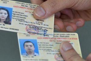 Mất giấy phép lái xe có phải thi lại không?