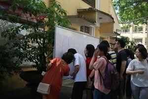 Hơn 3.000 bài thi THPT quốc gia bị điểm liệt