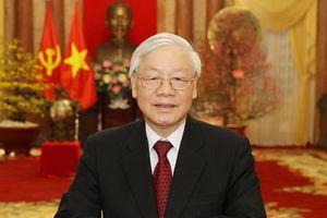 Lãnh đạo Việt Nam gửi điện mừng Quốc khánh Pháp