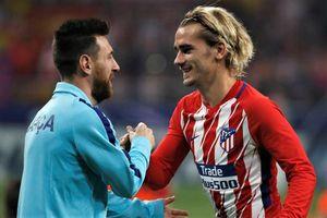 Griezmann bày tỏ sự ngưỡng mộ Messi
