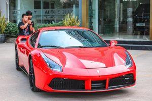 9 tháng sau tai nạn, siêu xe Ferrari 488 GTB của Tuấn Hưng tái xuất