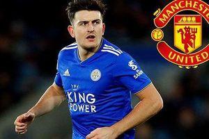 Phá két 80 triệu bảng, 'Quỷ đỏ' sở hữu trung vệ Harry Maguire