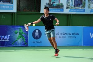Lý Hoàng Nam lần đầu tiên thắng trận ở giải quần vợt ATP 110