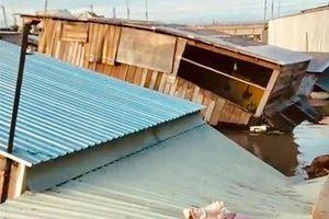 Đồng Tháp: Nhiều ngôi nhà bị 'hà bá' nuốt chửng, thiệt hại hàng trăm triệu đồng