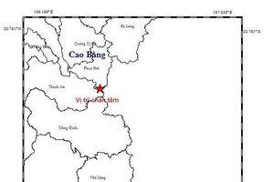Liên tiếp động đất ở biên giới phía Bắc
