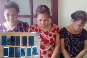 3 'nữ quái' có nhiều tiền án rủ nhau thuê nhà trọ để hành nghề 'đạo chích'