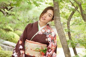 Á hậu Lệ Hằng diện kimono, hào hứng khám phá thành cổ Kyoto