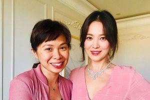Song Hye Kyo xuất hiện lộng lẫy và trả lời báo chí sau ly hôn