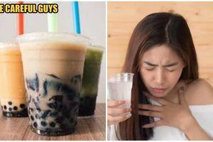 Hút trà sữa trân châu quá mạnh, cô gái 19 nhận cái kết đầy ám ảnh