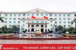 Sáng nay, khai mạc kỳ họp thứ 10, HĐND tỉnh Hà Tĩnh khóa XVII