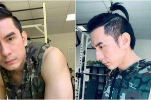 Sau kiểu 'củ hành cuốn lô', Đan Trường lại đổi sang 'tóc em đuôi gà' vì lý do rất thú vị