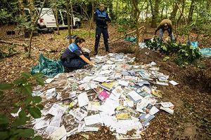 Phát hiện hàng nghìn bức thư bị chôn trong rừng sâu Hà Lan