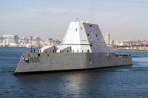 Khu trục hạm tàng hình Mỹ thay cả động cơ vì lý do không ngờ
