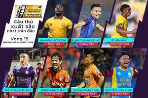 Cầu thủ xuất sắc nhất vòng 15, Rimario hay Đinh Thanh Trung?