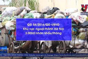 Bất cập bài thầu thu gom rác tại ngoại thành Hà Nội
