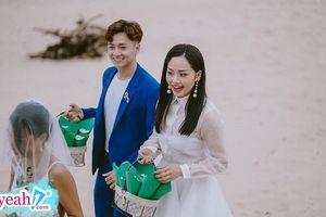 Làm dâu phụ rể phụ cho bạn, Ngô Kiến Huy - Miu Lê bất ngờ được ship cặp nhiệt liệt vì quá đẹp đôi