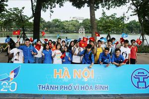 Hà Nội - Khát vọng và tình yêu hòa bình: Giữ gìn và phát huy danh hiệu quý