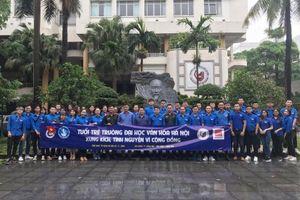 Tuổi trẻ Đại học Văn hóa Hà Nội xung kích tình nguyện vì cộng đồng