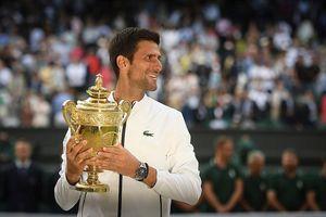 Thắng nghẹt thở Federer, Djokovic lần thứ năm vô địch Wimbledon