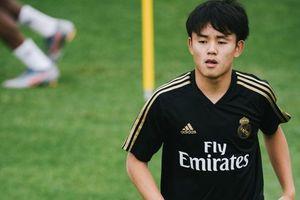 Takefusa Kubo khiến dàn sao Real Madrid kinh ngạc trên sân tập