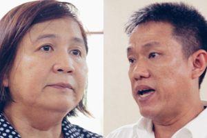 Họa sĩ Lê Linh và bà Mỹ Hạnh 'giành giật' Thần đồng đất Việt