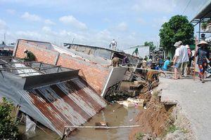Mưa lớn gây thiệt hại tại nhiều địa phương