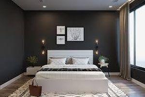 Phòng ngủ màu đen- điểm nhấn sang chảnh cho căn nhà
