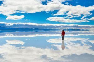 Hình ảnh khó tin quanh cánh đồng muối lớn nhất thế giới
