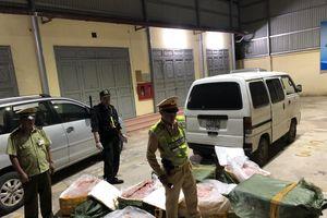 Lạng Sơn: Phát hiện hơn 7 tạ nầm lợn nhập lậu đã bốc mùi