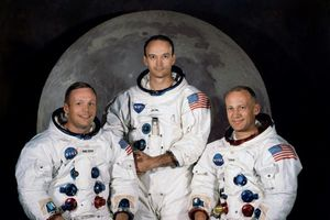 50 năm sau cuộc đổ bộ lên Mặt trăng, các phi hành gia Apollo gặp nhau tại bệ phóng lịch sử