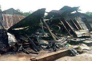 Đắk Nông: Nổ bình ga gây cháy nhà, một người phụ nữ đơn thân phải nhập viện