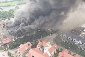 Tin thêm về vụ cháy tại khu biệt thự liền kề gần Thiên Đường Bảo Sơn